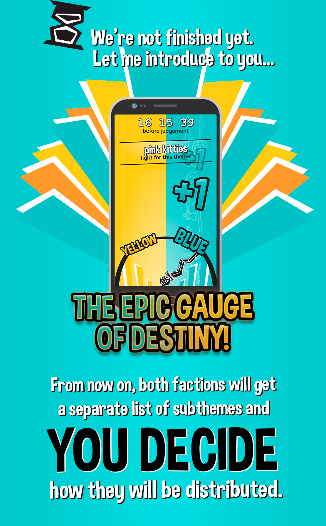 Introducing the epic gauge of destiny!